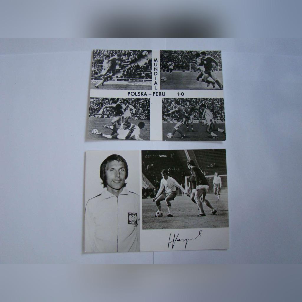 Zestaw 17 pocztówek sportowych * Lata 1972-1978