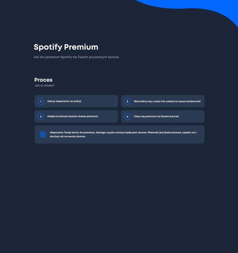 Spotify Premium 365 Dni Kup Teraz Za 29 00 Zl Warszawa Allegro Lokalnie