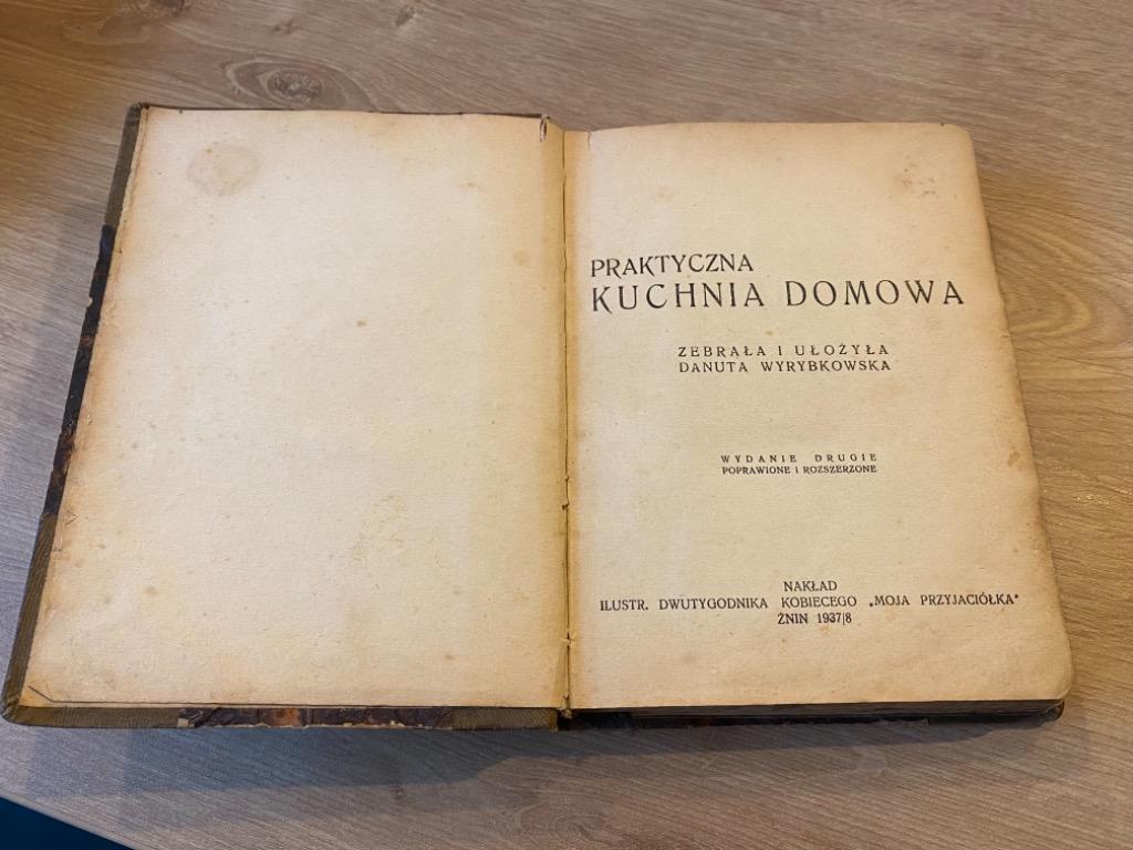 Praktyczna Kuchnia Domowa Danuta Wyrybkowska Kup Teraz Za 90 00 Zl Warszawa Allegro Lokalnie