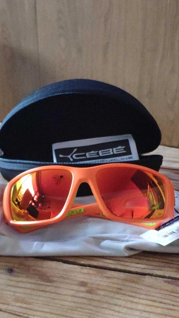 Sportowe okulary przeciwsłoneczne CEBE Session Matt Orange