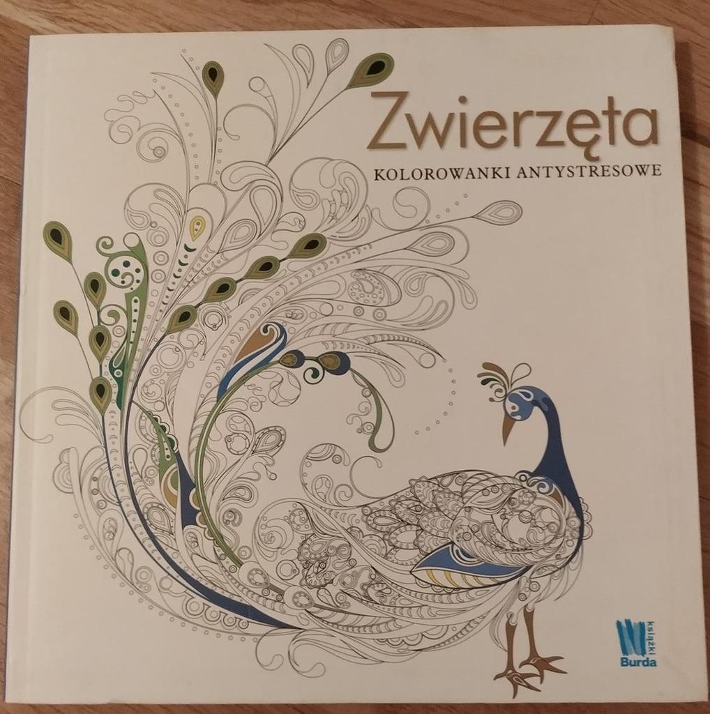 Kolorowanki Antystresowe Zwierzeta Kup Teraz Za 7 99 Zl Poznan Allegro Lokalnie