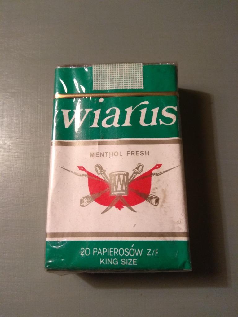 Papierosy WIARUS PRL