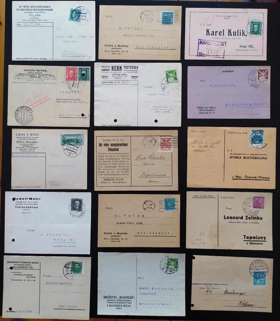 CSR 50 całości korespondencja firmowa