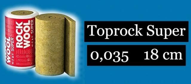 Welna Skalna Rockwool Toprock Super 18cm 0 035 Cena 25 00 Zl Nowe Bojszowy Allegro Lokalnie