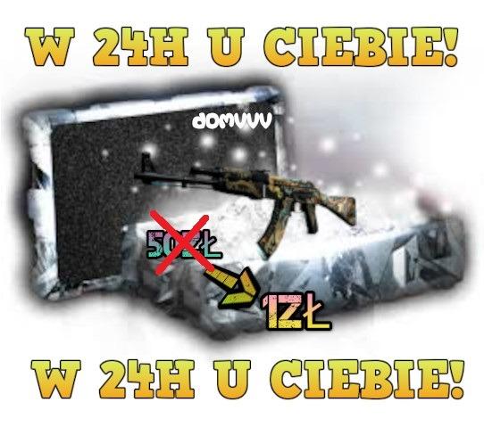 Cs Go Skin Mysterybox Csgo 2 4 Skiny W 24h Kup Teraz Za 1 20 Zl Katowice Allegro Lokalnie