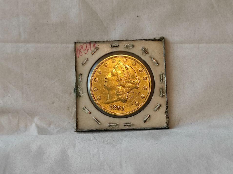 LIBERTY  1891 rok, 20 dolarów