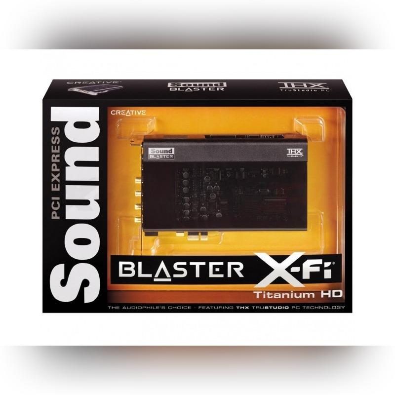 Купить Creative Soundblaster Titanium HD на Otpravka - цены и фото - доставка из Польши и стран Европы в Украину.