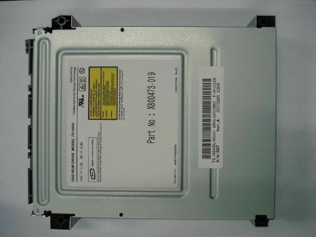 Купить DVD-ПЗУ Toshiba TS-H943 для XBOX 360 на Otpravka - цены и фото - доставка из Польши и стран Европы в Украину.