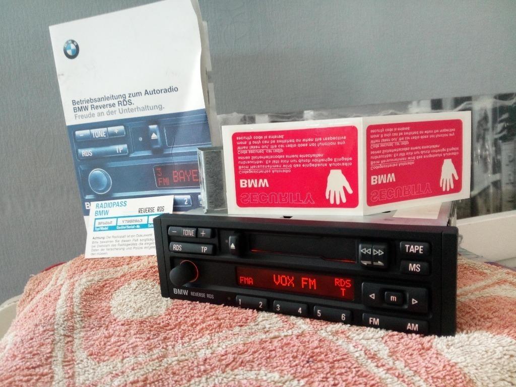 bmw обратный rds радио e30 e32 e34 e36 + книга