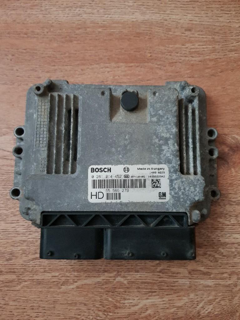 Контроллер двигателя astra 3 h 1.9 cdti 120 km, фото 0