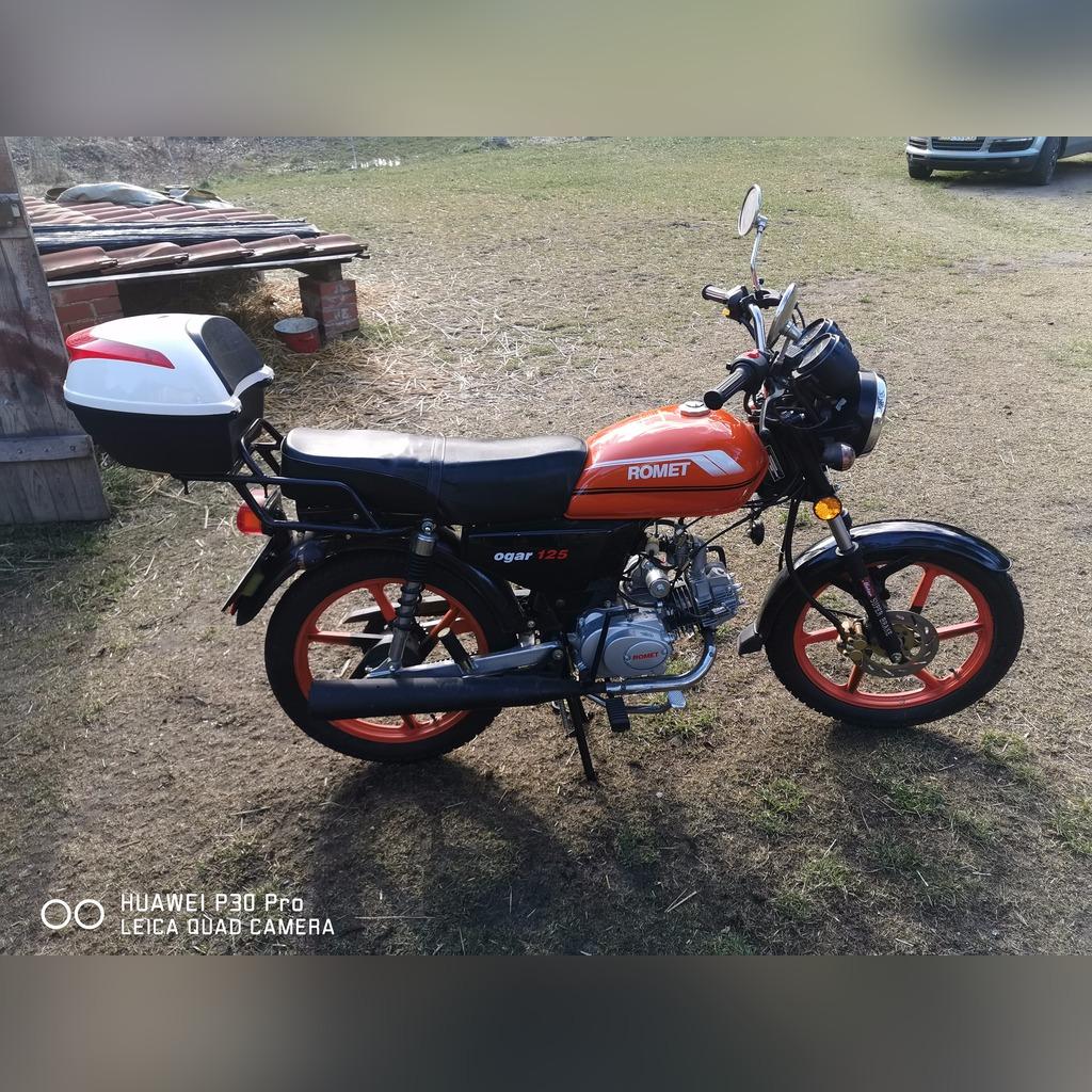 Motor Romet Ogar 125 Kup Teraz Za 3000 00 Zl Ramsowko Allegro Lokalnie