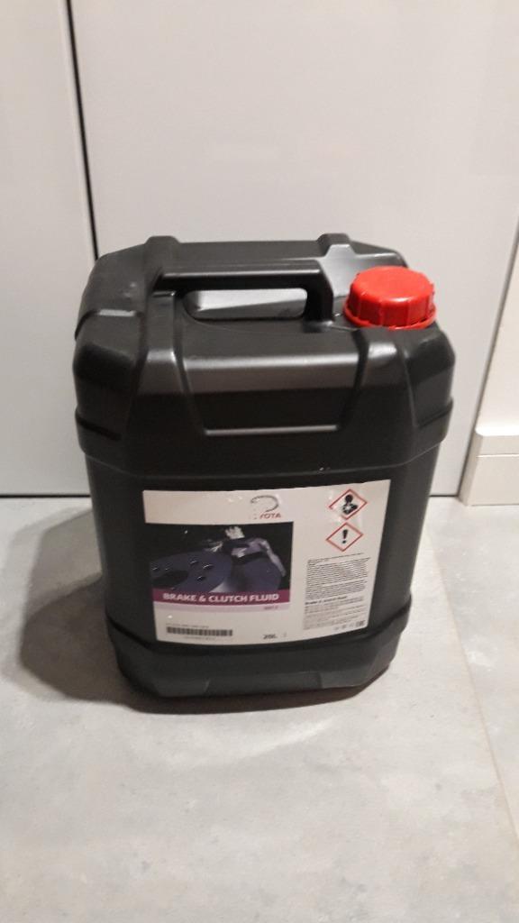 Тормозная жидкость DOT 4, канистра 20л