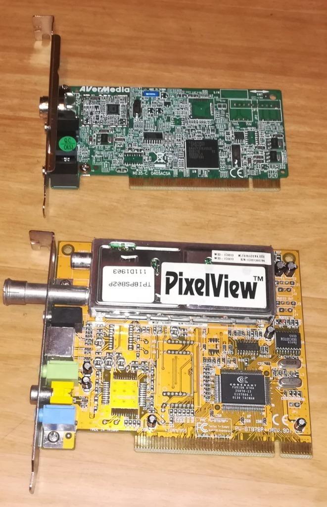 Купить Плата PCI TV - несколько моделей на Otpravka - цены и фото - доставка из Польши и стран Европы в Украину.