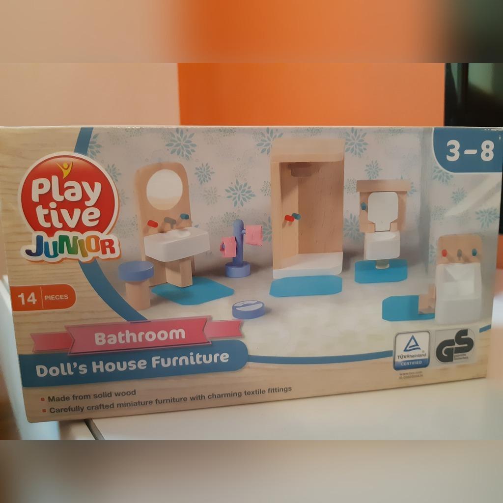 Playtive Junior Mebelki Drewniane Lazienka Kup Teraz Za 25 00 Zl Radziejowice Allegro Lokalnie