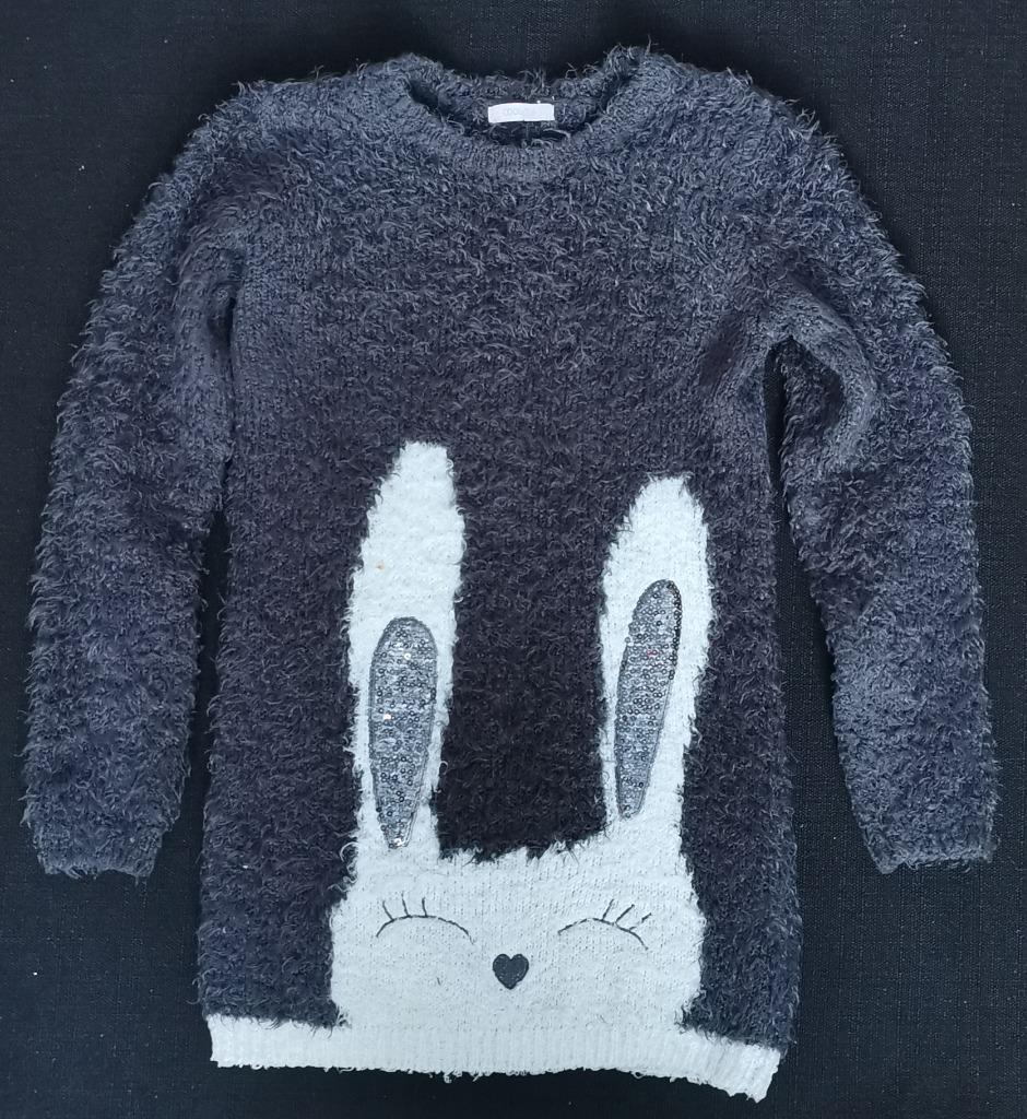 CoolClub sweter z króliczkiem roz. 140