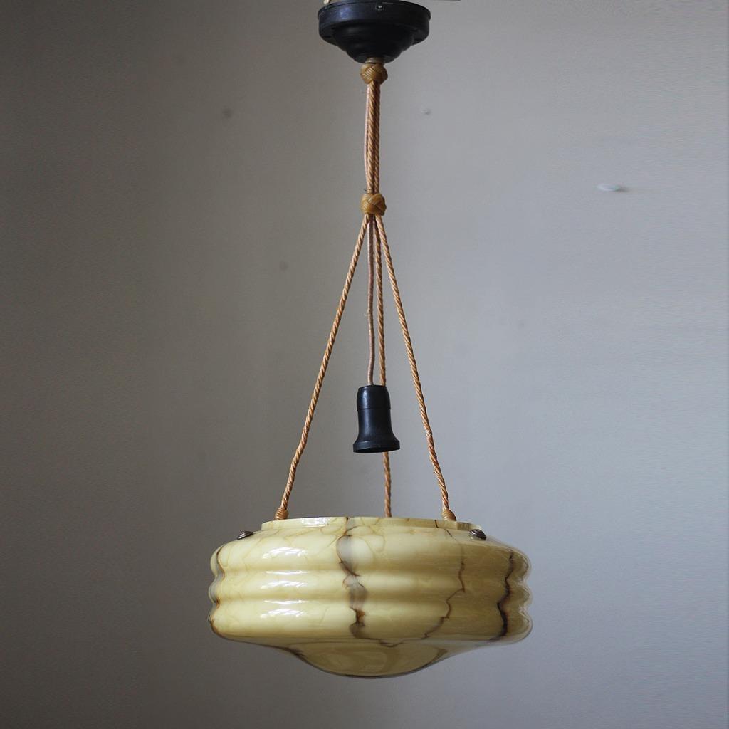 Потолочный светильник, подвесной ар-деко, стекло, люстра