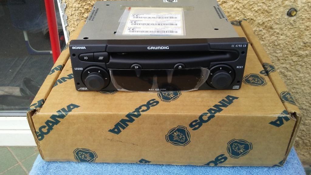 на заводе новые радио scania ec4790cd grundig