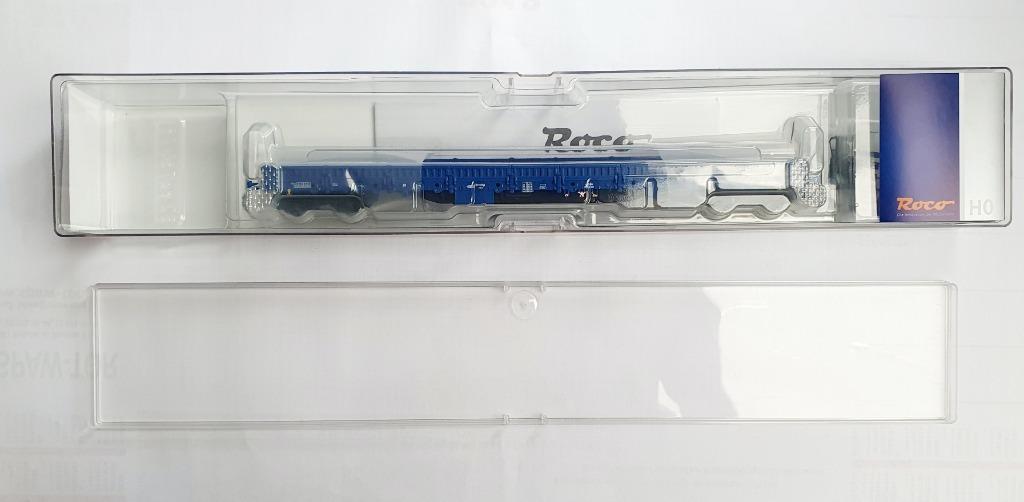 roco 66751 wagon platforma RES PKP Cargo