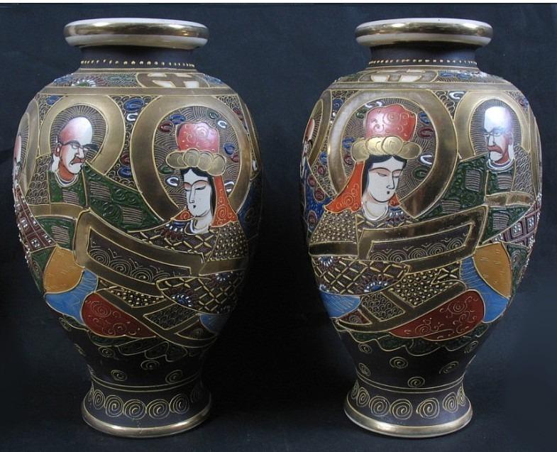 Para wazonów, Japonia, ok. 1900 r.