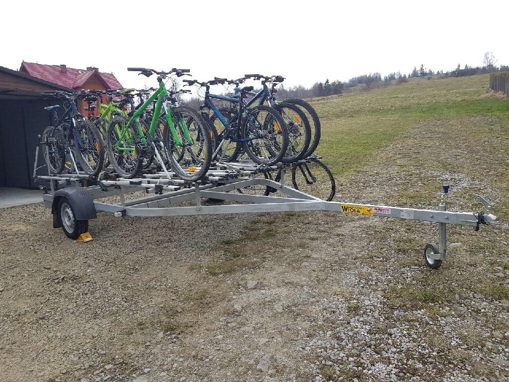 Przyczepa do przewozu rowerow