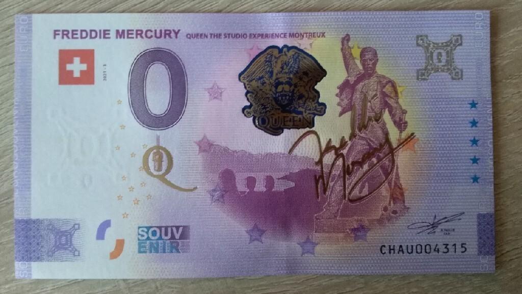 0 евро ЗОЛОТОЙ ЮБИЛЕЙ МЕРКЮРИ УНИКАЛЬНЫЙ !!!!