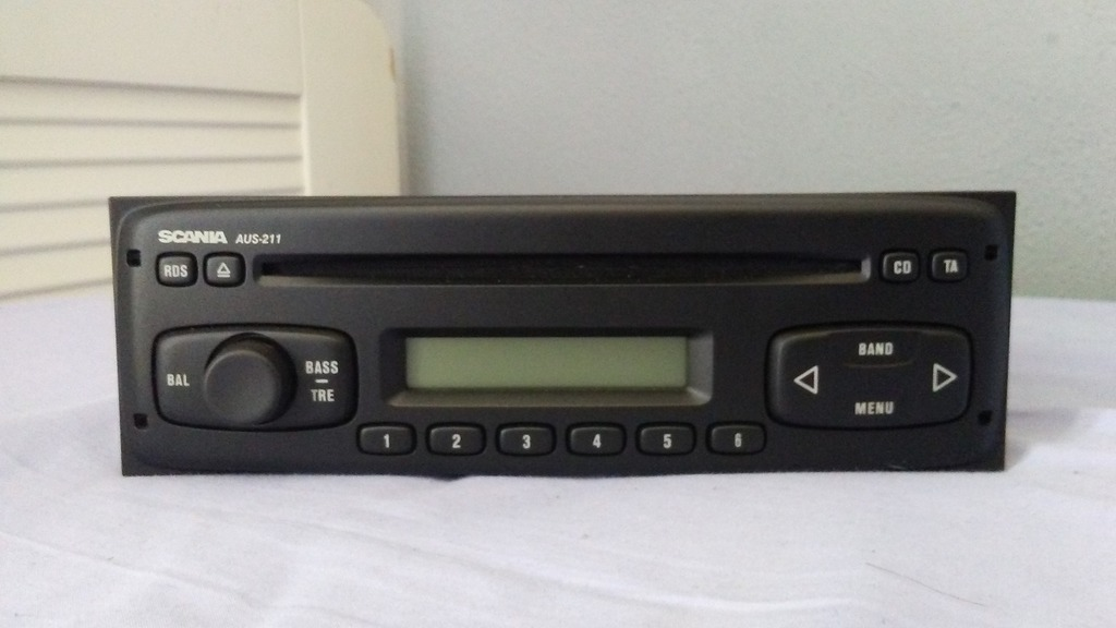 радио scania aus211 - 12v - как новые  возможность