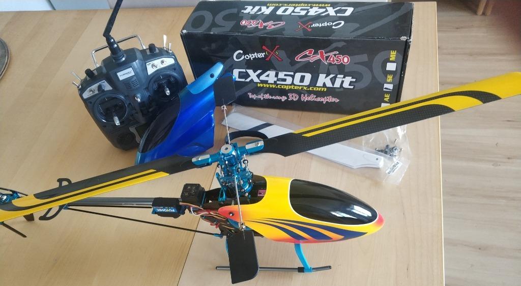 Helikopter Copterx CX450 SE