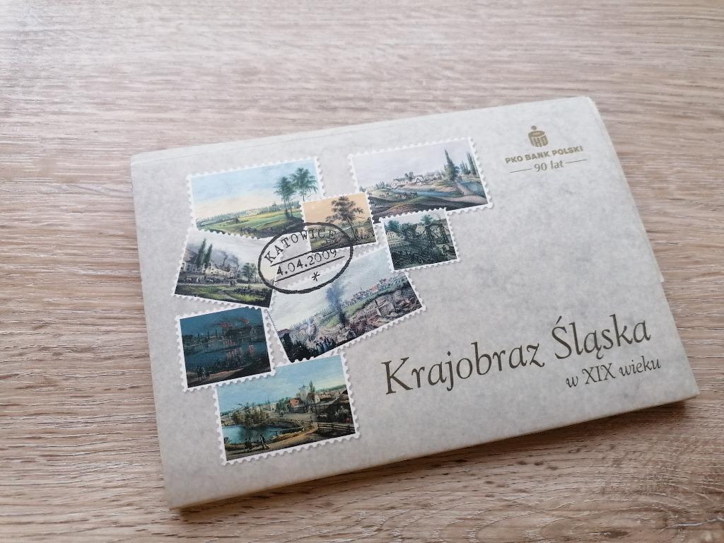 Krajobraz Śląska w XIX w  - 17 pocztówek kolekcja