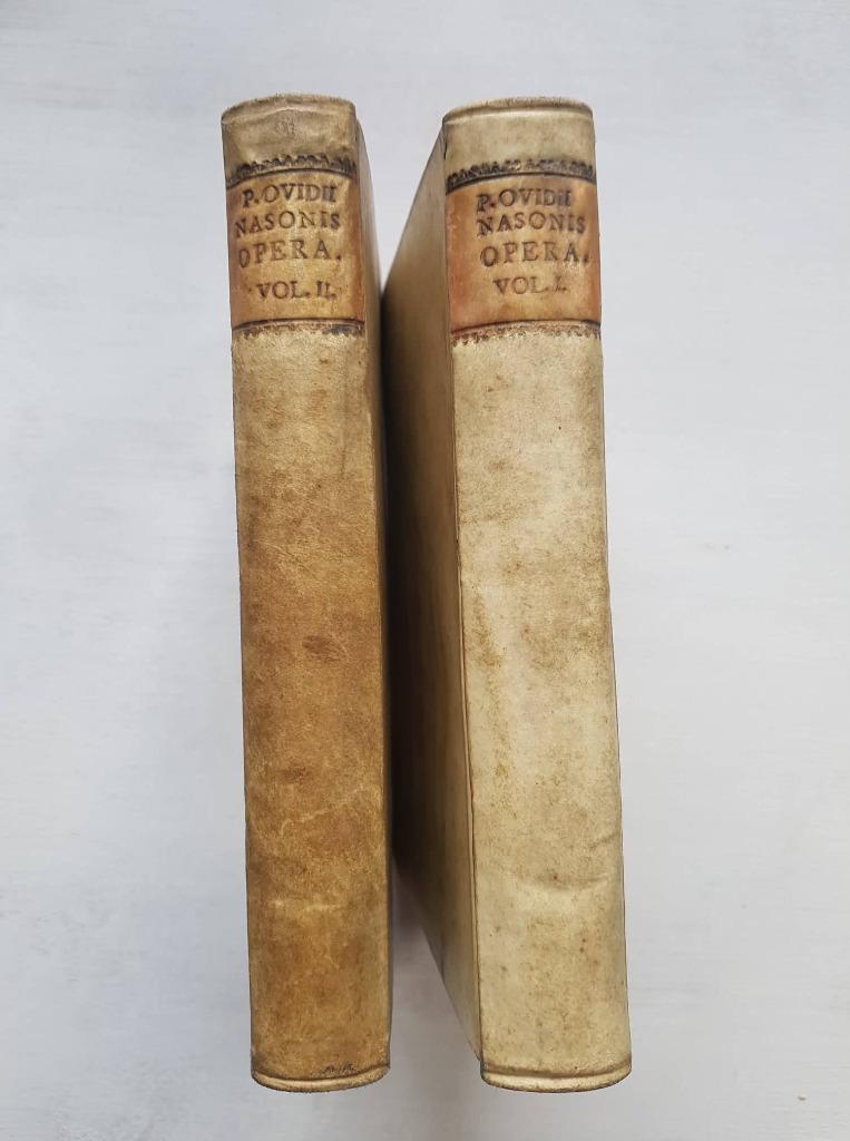 Publii Ovidii Nasonis Opera ..... T I i II, 1783r.