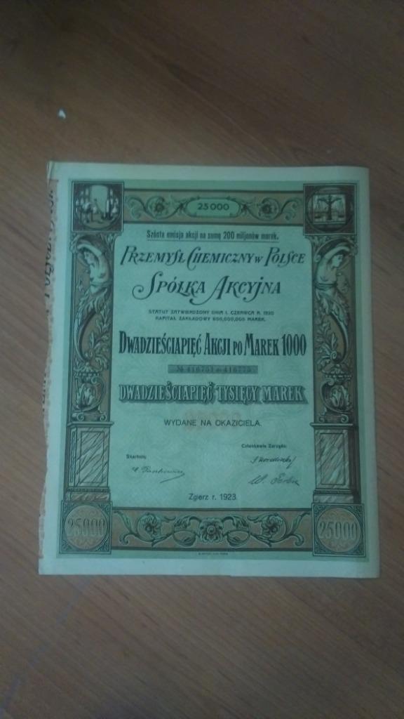 Купить РАЗДЕЛ VI выпуска Польской химической промышленности 1923 г. на Otpravka - цены и фото - доставка из Польши и стран Европы в Украину.