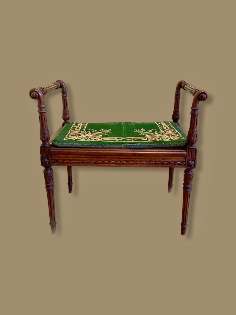 Скамья и сиденье Спальня Людовик XVI Франция XIX век