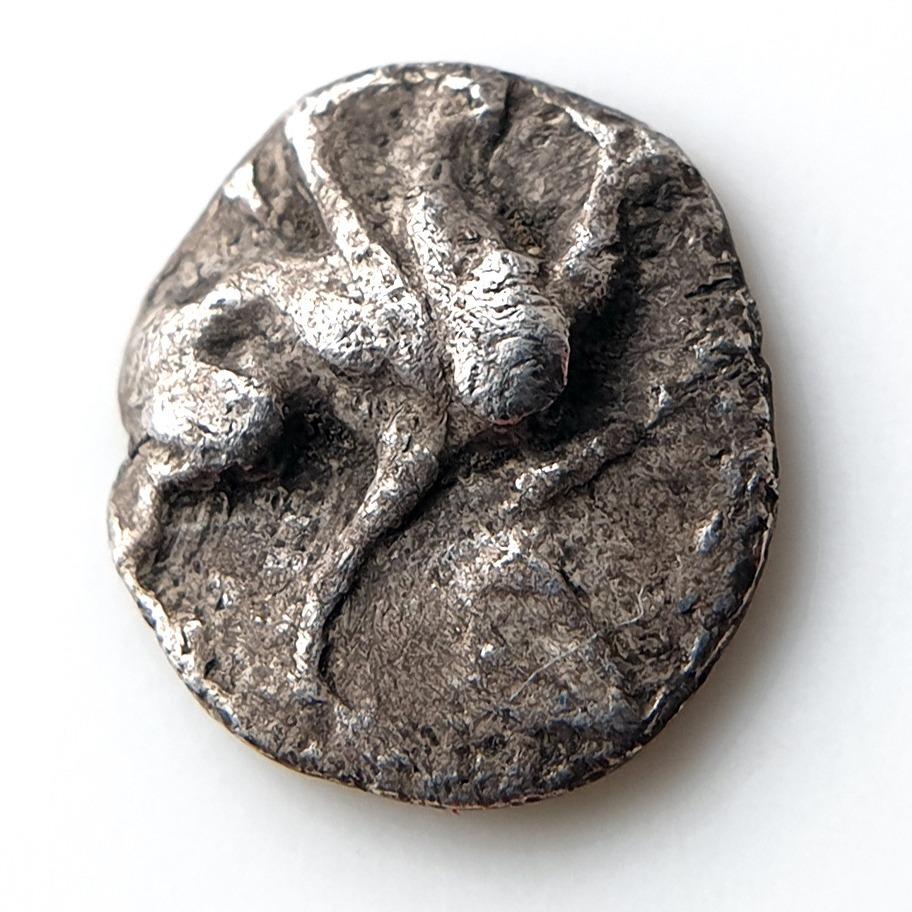 Jonia TEOS tetartemorion z gryfem 460-420BC RZADKI