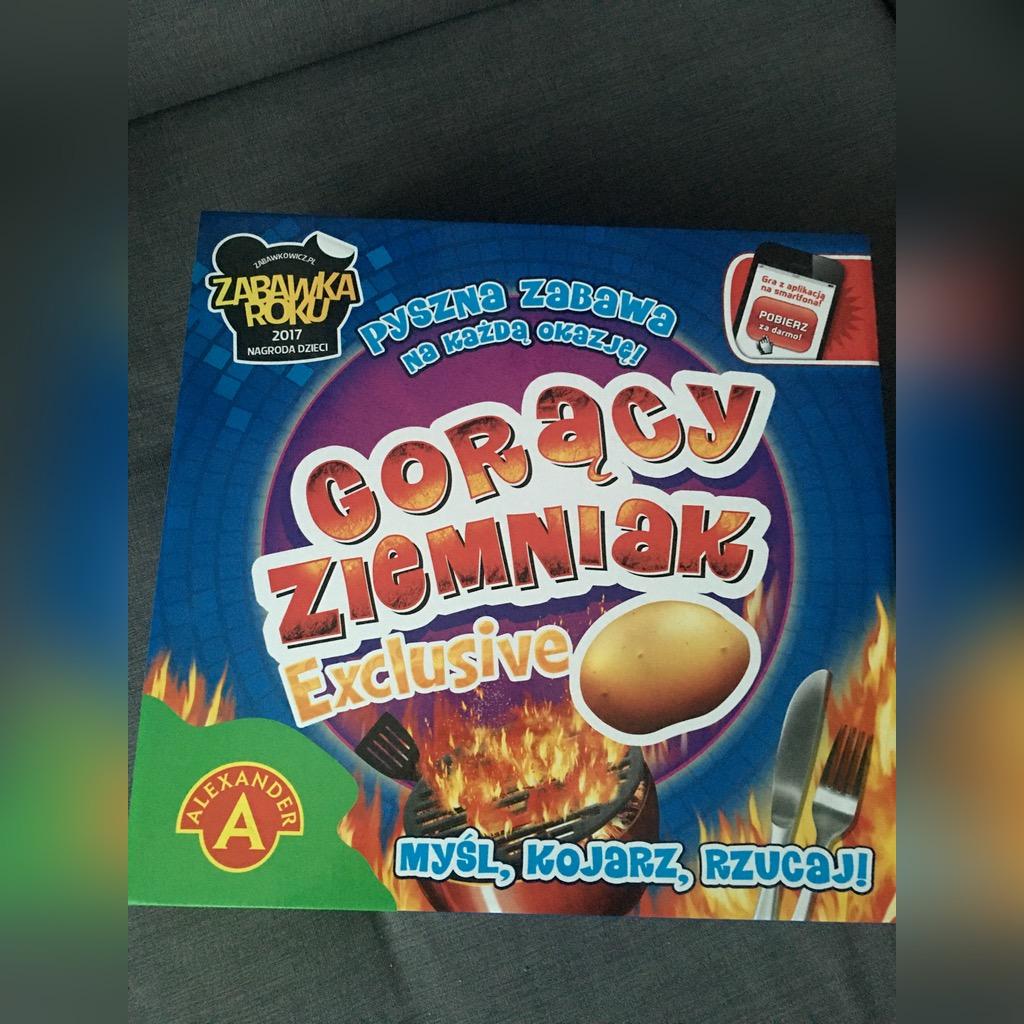 Gra Planszowa Goracy Ziemniak Exclusive Kup Teraz Za 49 99 Zl Raciborz Allegro Lokalnie