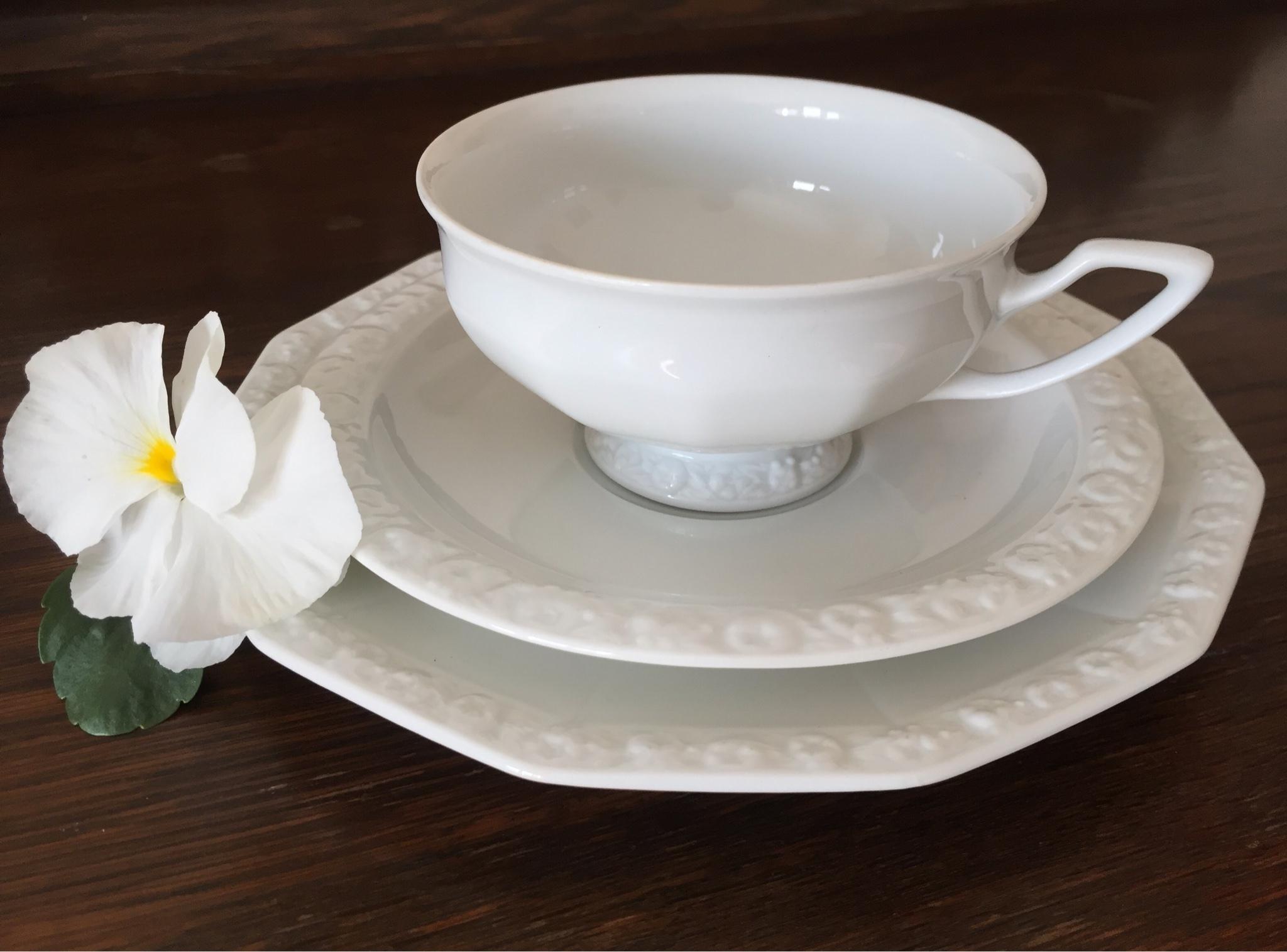 Чайные сервизы Rosenthal white Maria