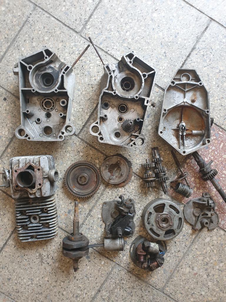 Двигатель запчасти romet мопедик 019 3 передачи, фото 0