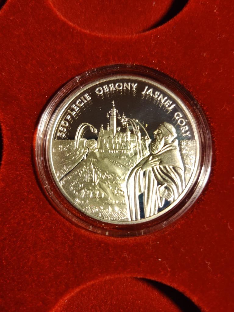Moneta 20 zł Obrona Jasnej Góry 2005