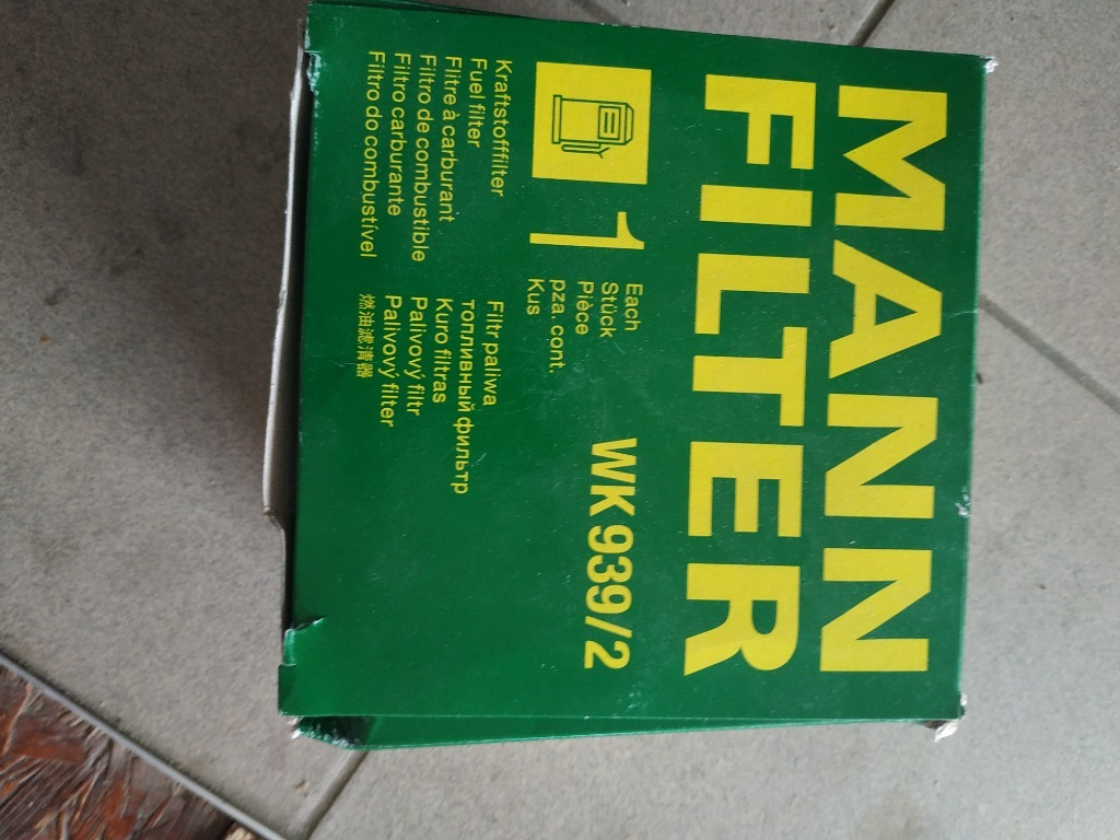 mann filter вк 939 2 фильтр топлива