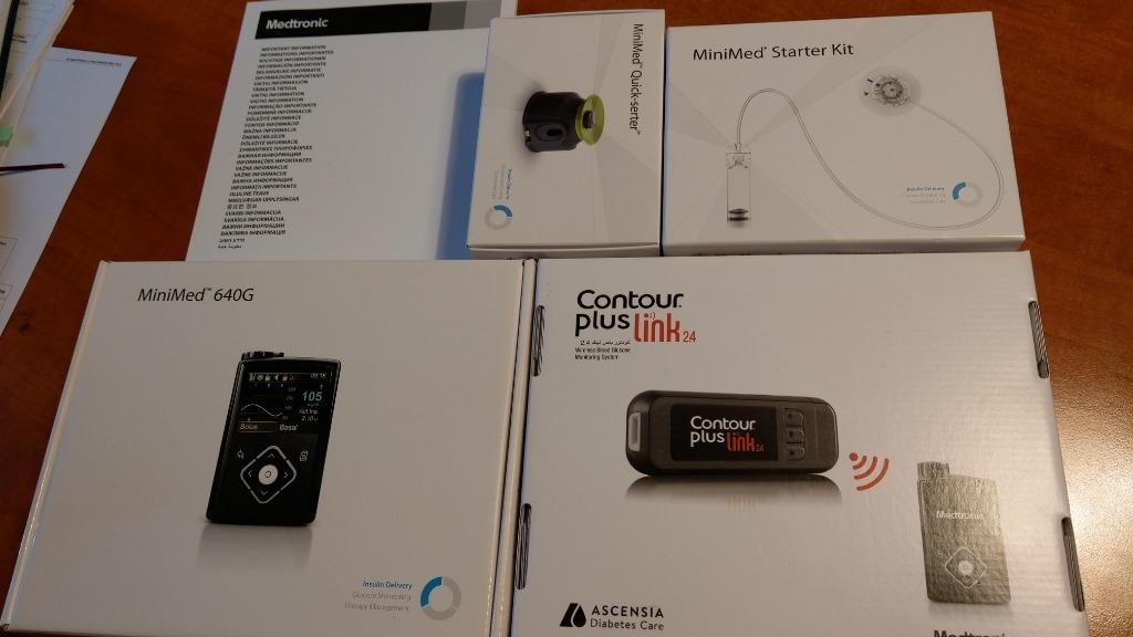 Pompa insulinowa MiniMed 640G z Glukometrem