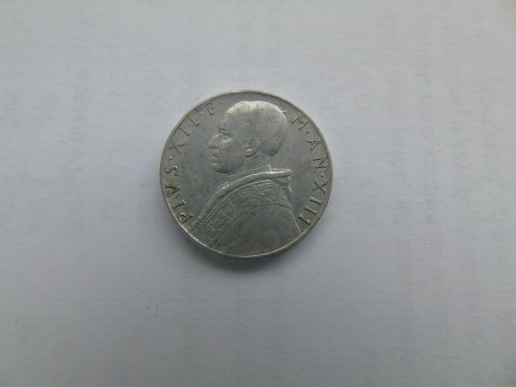 10 lira, 1951, Pius XII -   WYPRZEDAŻ
