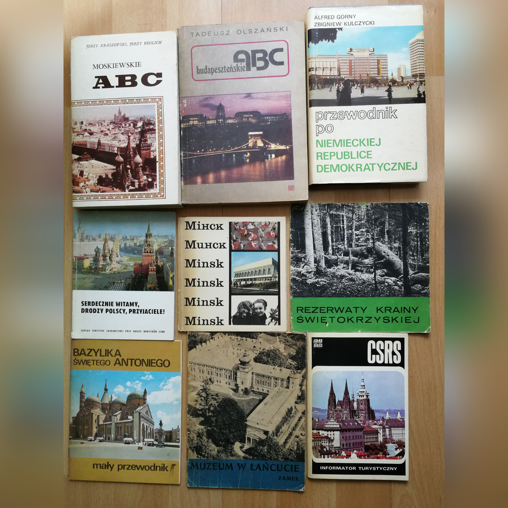 Item Guides guides travel pnrm set of 20