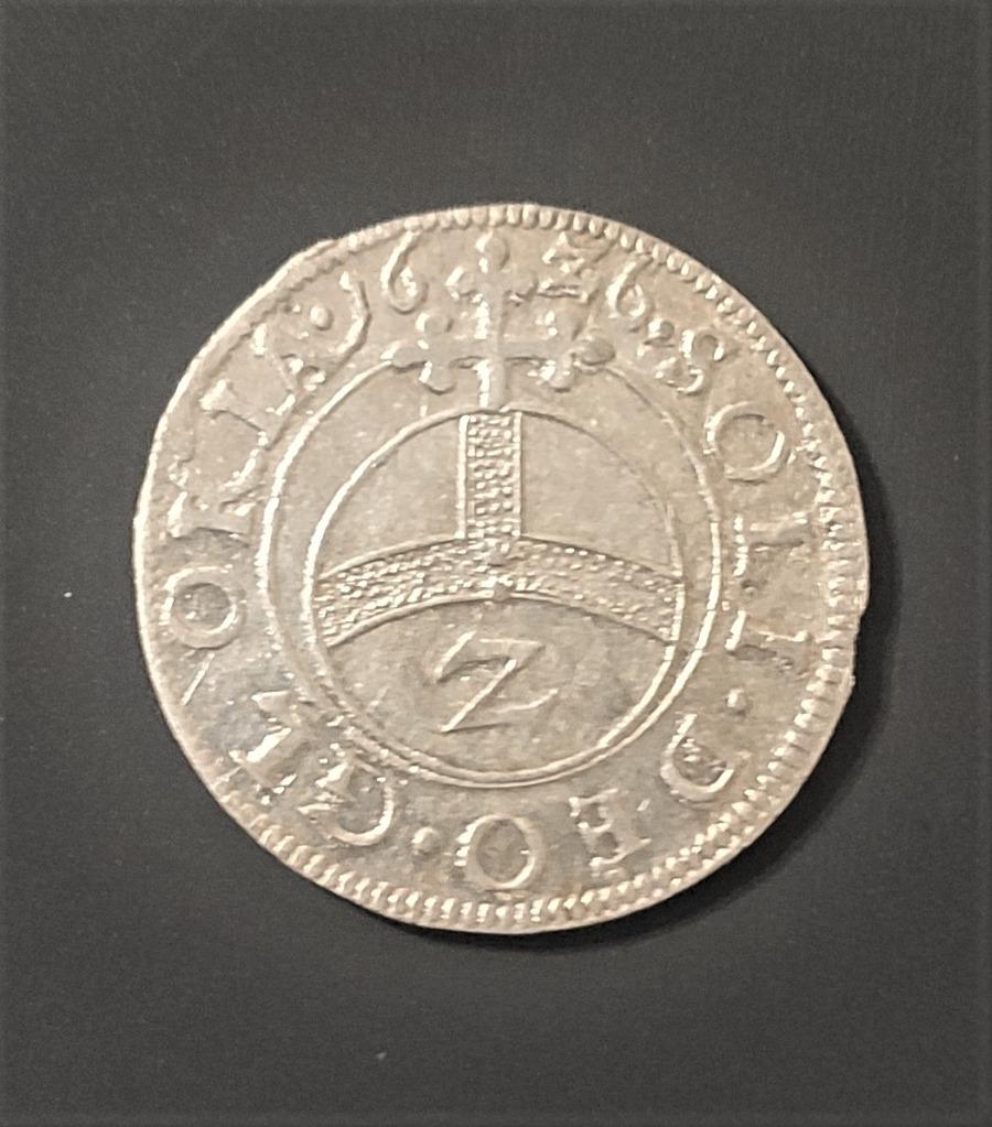 2 krajcary 1626 Bawaria, Maksymilian I, stan 1, Ag