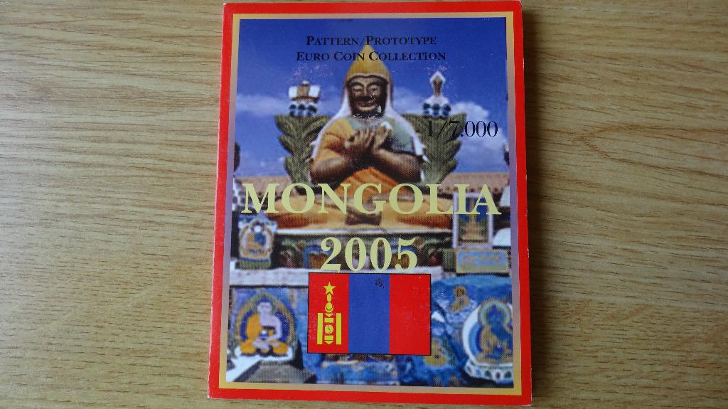 Mongolia 2005r. - Euro