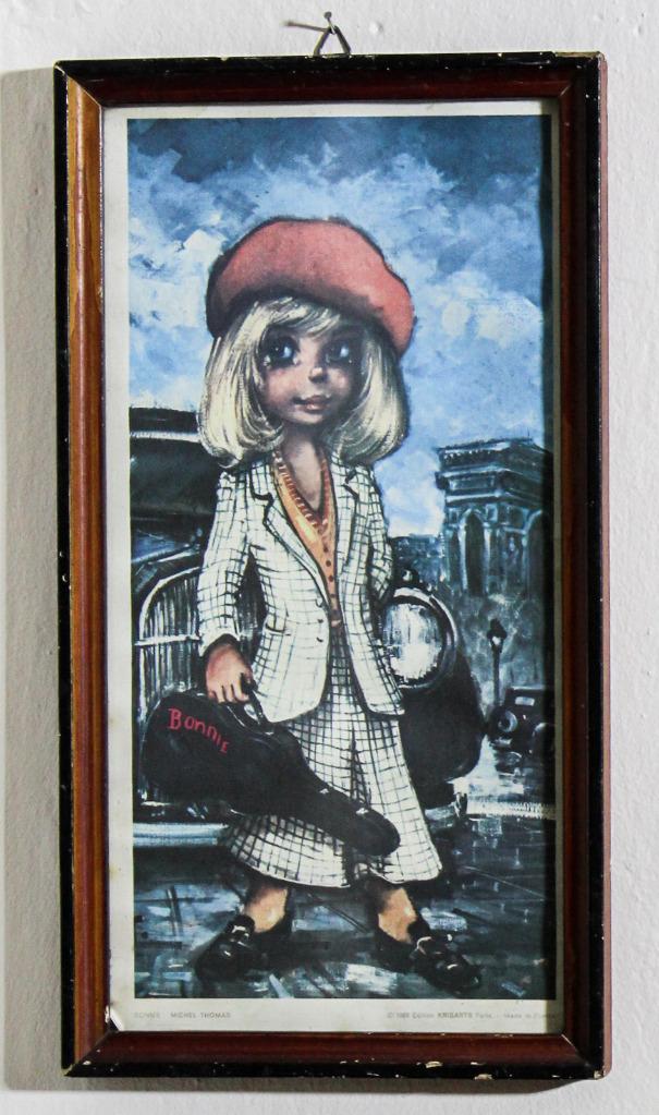 Michel Thomas Bonnie 1968 KrisArts Paris plakat