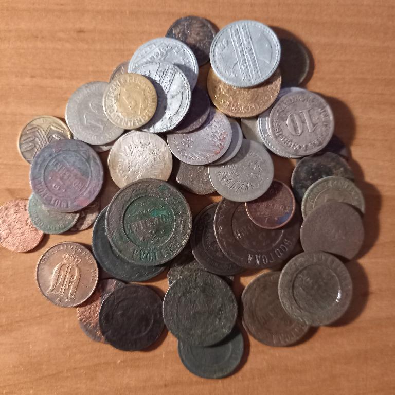 40 szt. starych monet