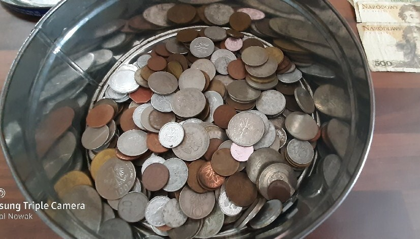 Stare monety banknoty prl