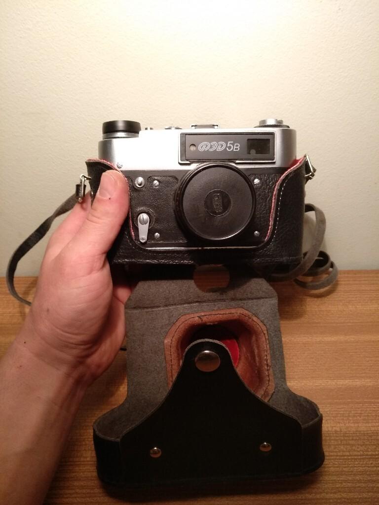 Камера Fed 5B + Индустар 61L / D