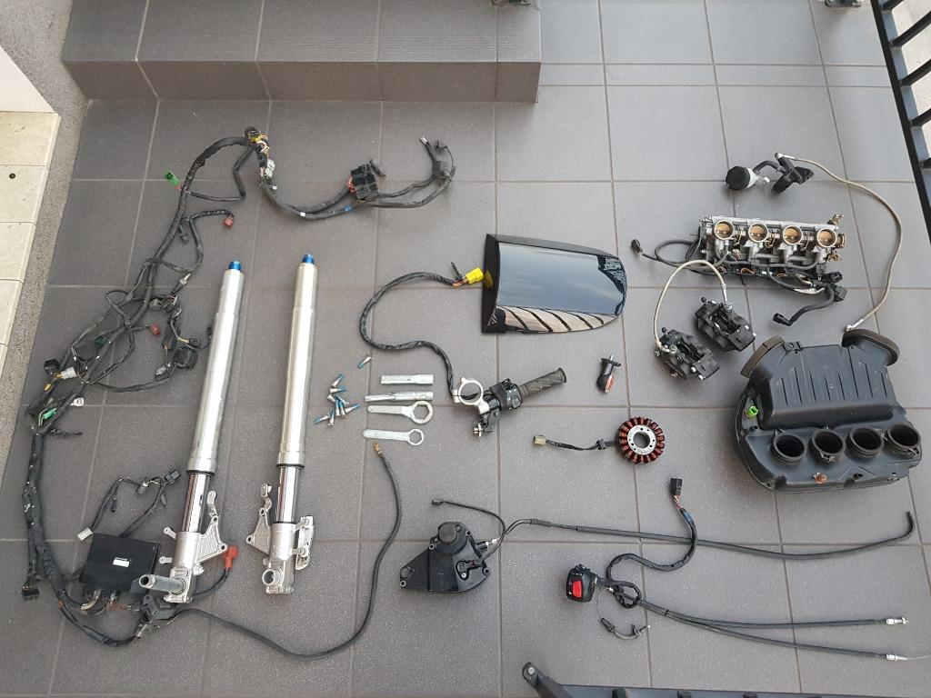 Двигатель suzuki gsxr k3 750 запчасти gsxr 750, фото 8
