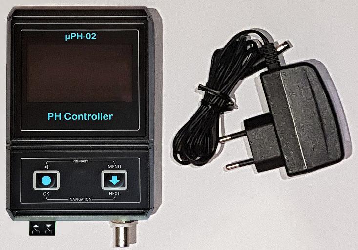 PH метр uPH 02 CO2 автоматика