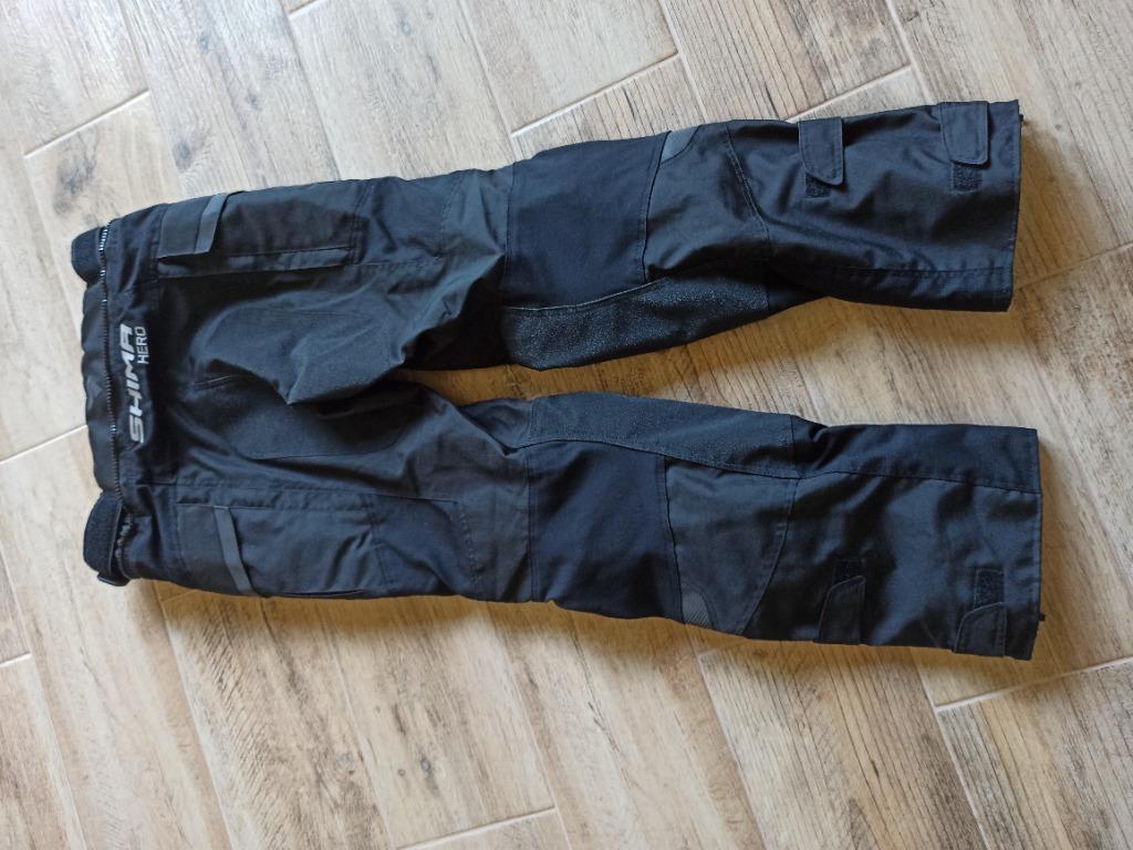 Штаны мотоциклетные shima hero pants black, фото 2