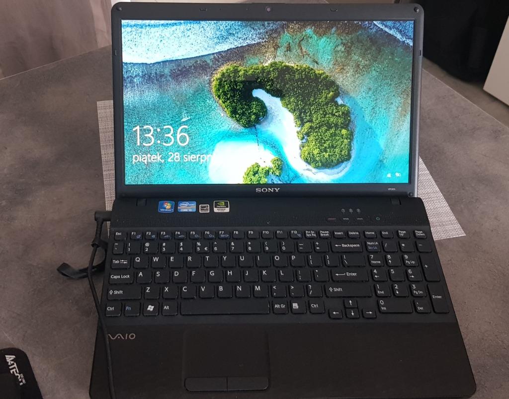 Laptop Sony Vaio Pcg 71811m Kup Teraz Za 390 00 Zl Warszawa Allegro Lokalnie